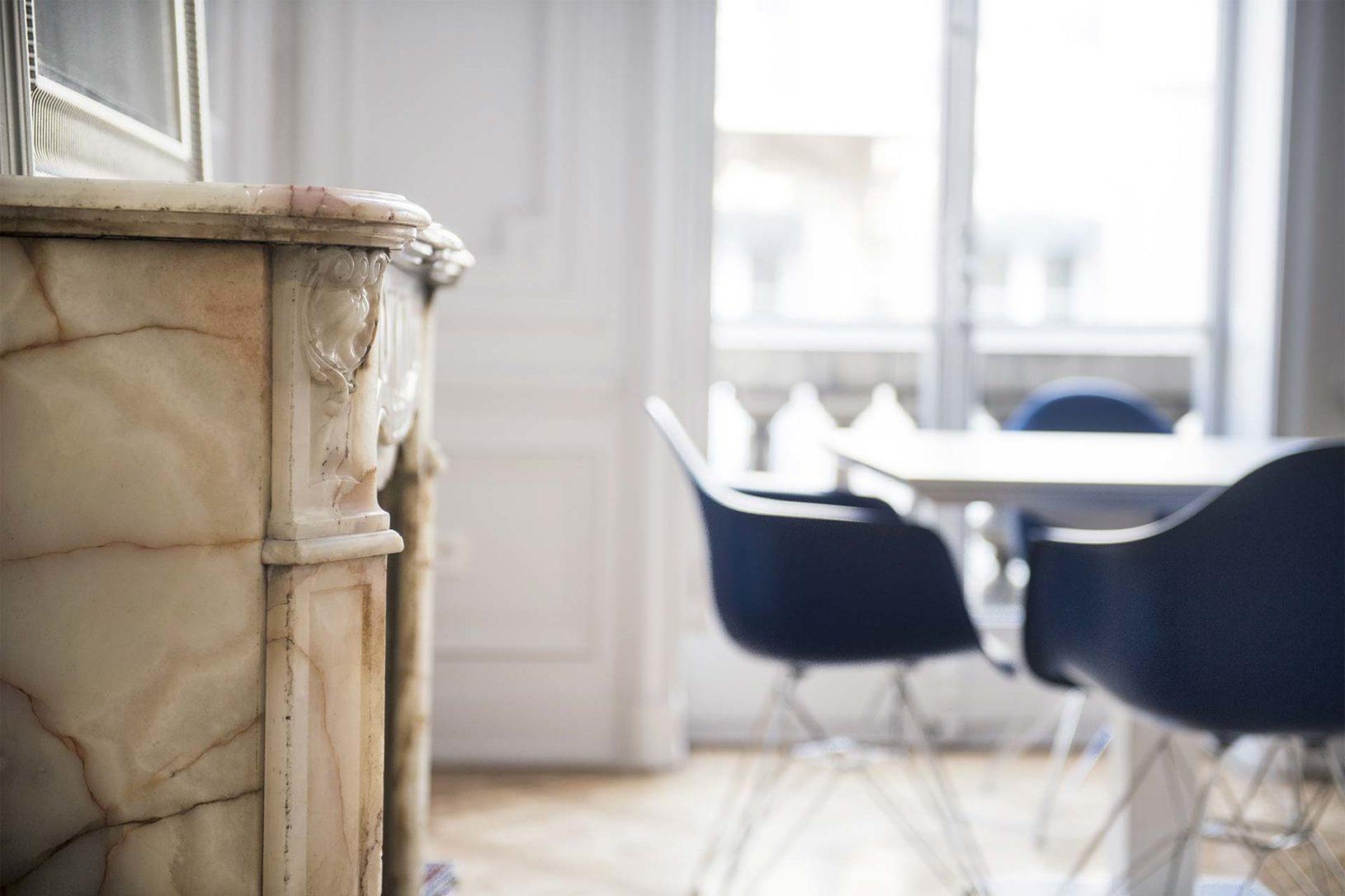 Salle de réunion Viajuris, cabinet d'avocats Saint Etienne et Lyon